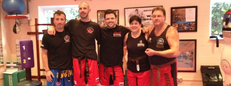 Kickboxing Grading - October 2012