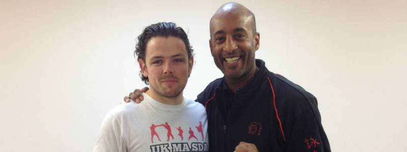 Robin French with Sifu Mark Phillips - December 2013