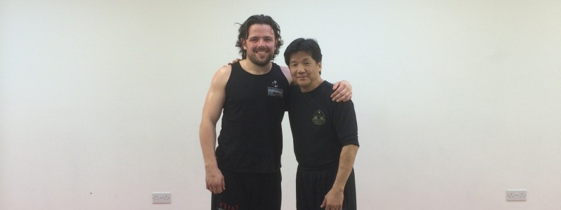 Robin French with Sifu Francis Fong - March 2014
