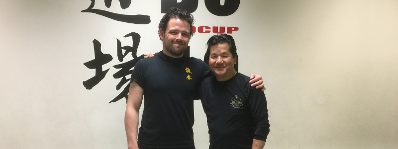 Robin French with Sifu Fong - December 2015