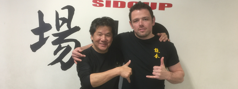 Robin French with Sifu Francis Fong - April 2016