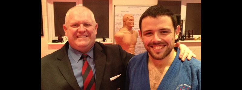 Robin French with Sensei Tom Starling