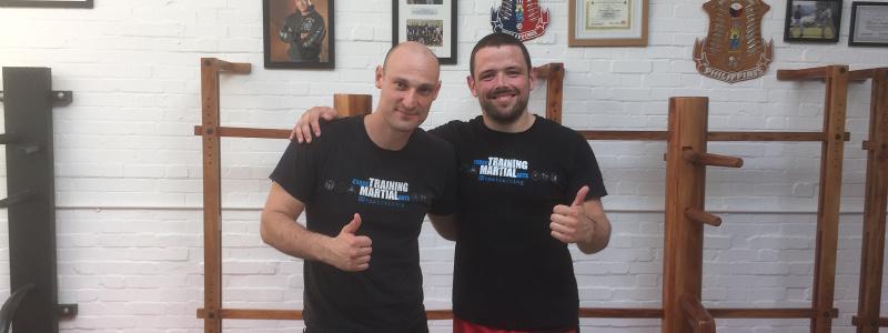 Robin French With Guro Daniel Lonero - September 2016