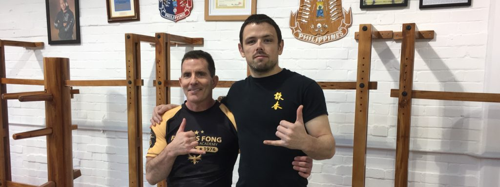 Robin French with Sifu Jim Brault - January 2017
