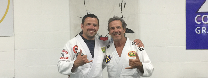 Robin French with Master Pedro Sauer - July 2018