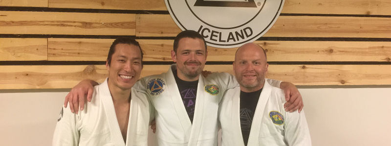 Robin French with Alex Ueda and Johann Eyvindsson - June 2019