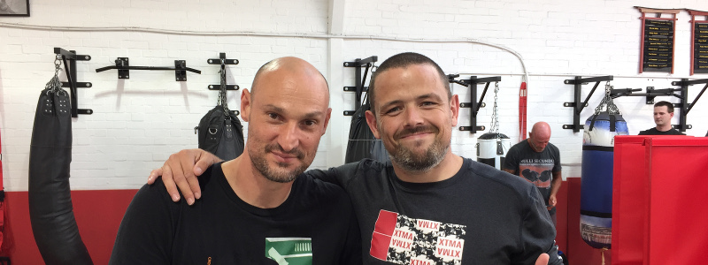 Robin French with Guro Daniel Lonero - September 2019